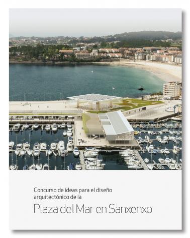 Plaza del mar en Sanxenxo