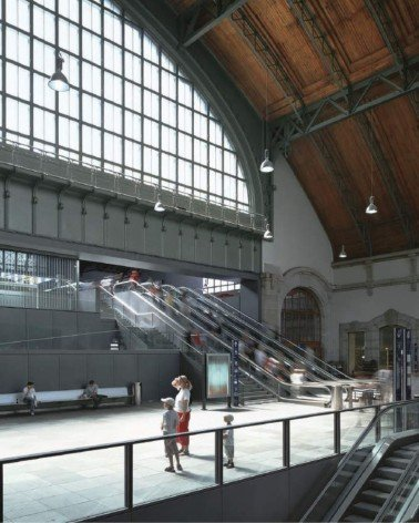 Estación de Ferrocarril de Basilea, rehabilitación y ampliación
