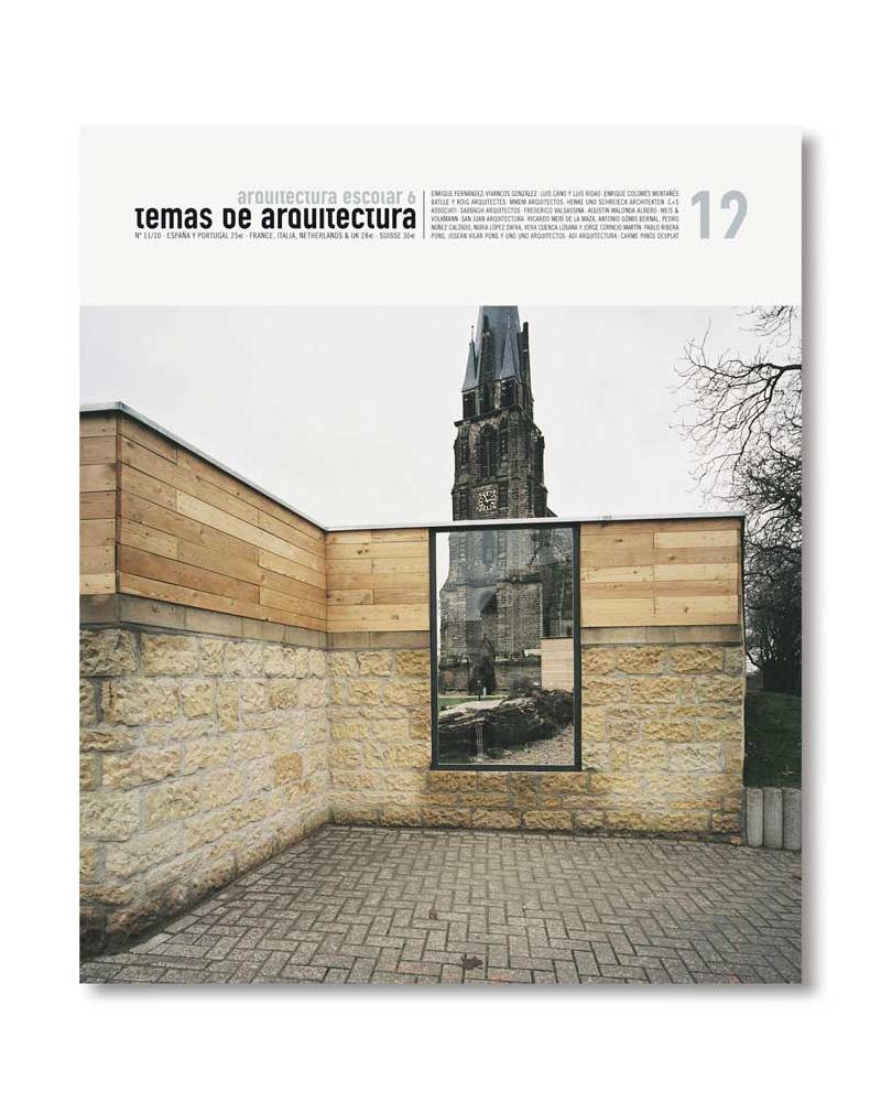 TA 12- Arquitectura Escolar (Vol. 6)