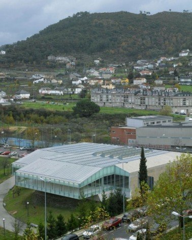 Piscinas para la Universidad de Vigo Patxi Mangado