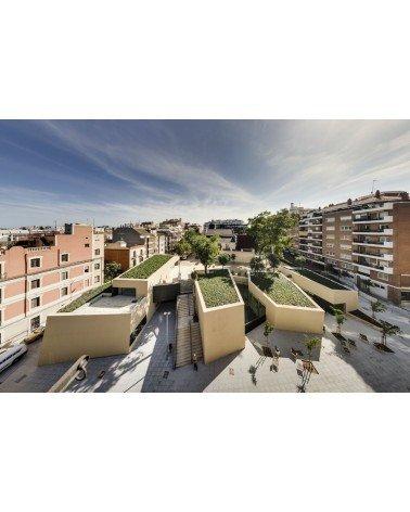 Biblioteca Joan Maragall Sant Gervasi Baena Casamor Arquitectes