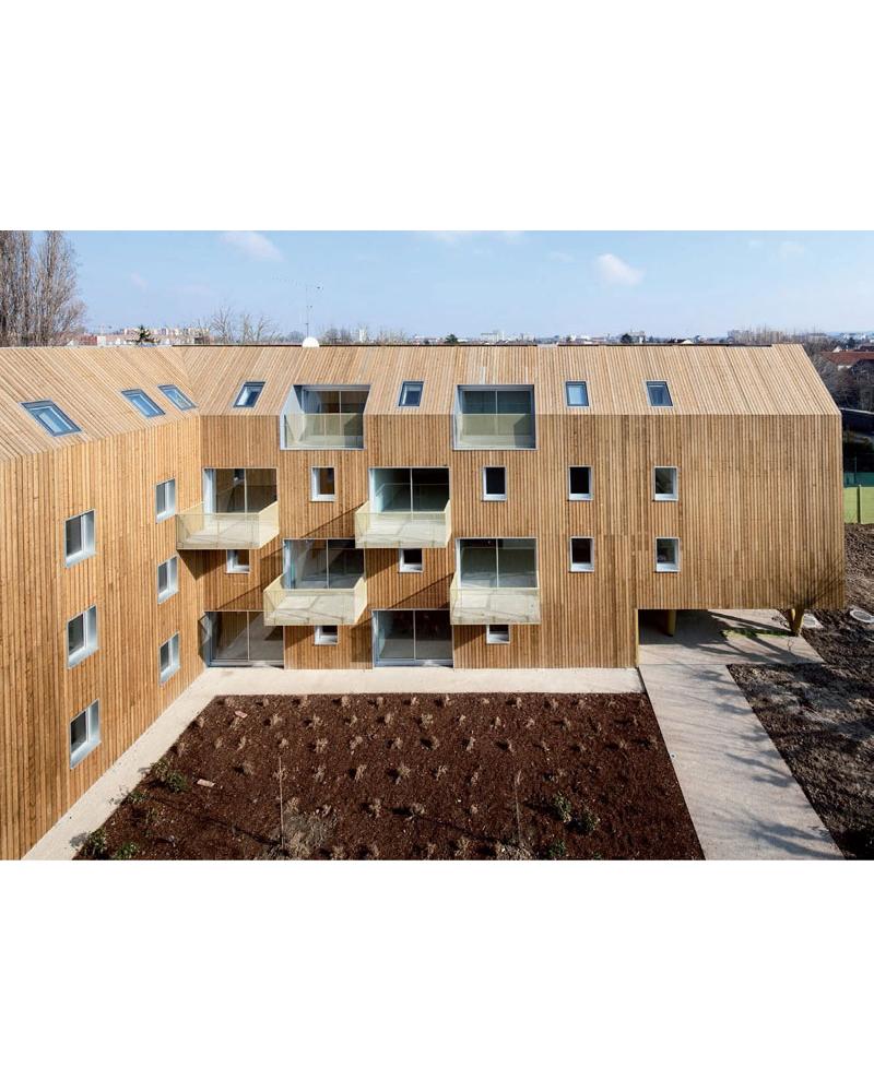 34 Viviendas Sociales. Bondy, Francia