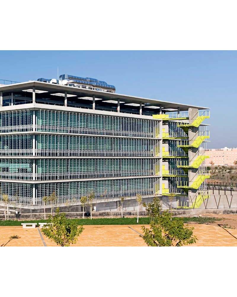 Campus Palmas Altas. Nuevo Complejo de Oficinas Abengoa. Sevilla. España.