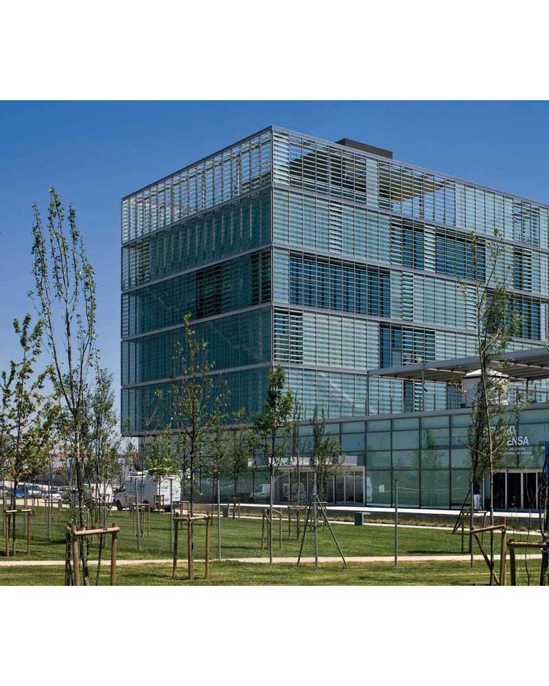 Edificio Expo Zaragoza. España.