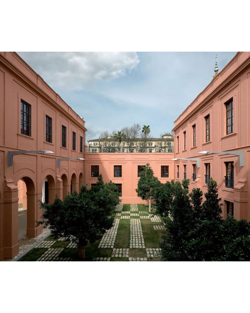 Recuperación del Palacio de San Telmo. Sede de la Presidencia de la Junta de Andalucía. Sevilla