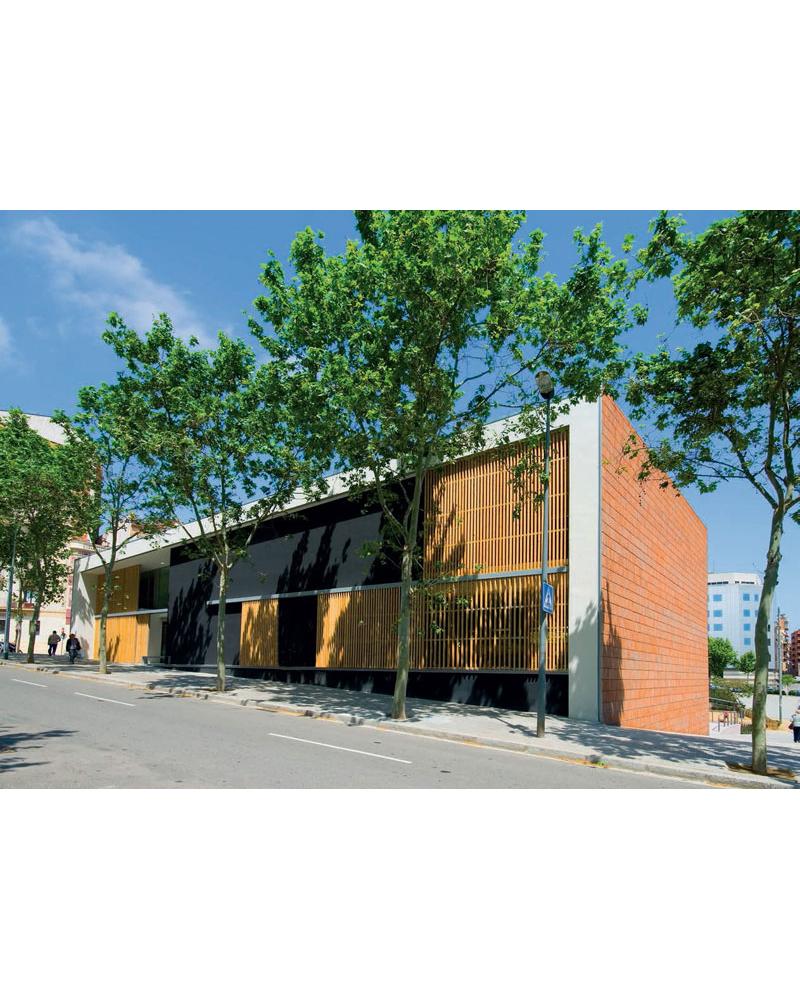 Casal para la Tercera Edad. Horta-Guinardó. Barcelona. España.
