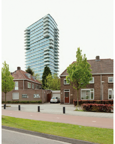 Torre E en Eindhoven, Holanda