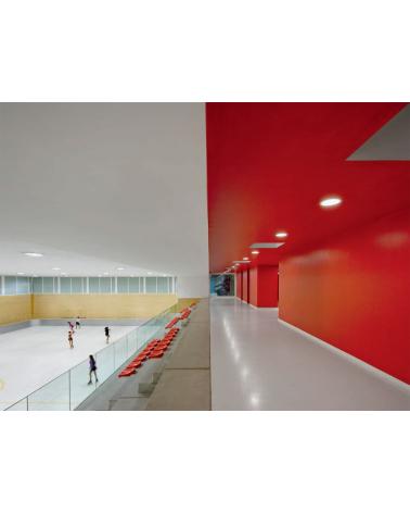 Pabellones Municipales de Deportes. Olot. Gerona