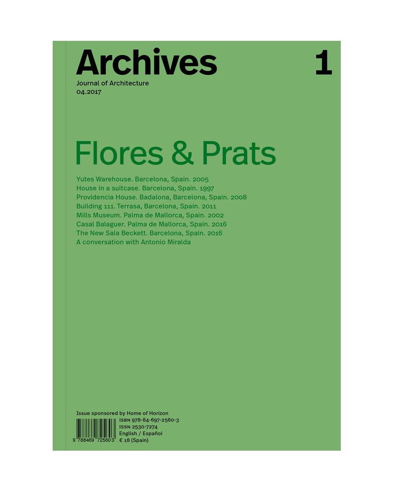 Archives nº 1- Flores & Prats