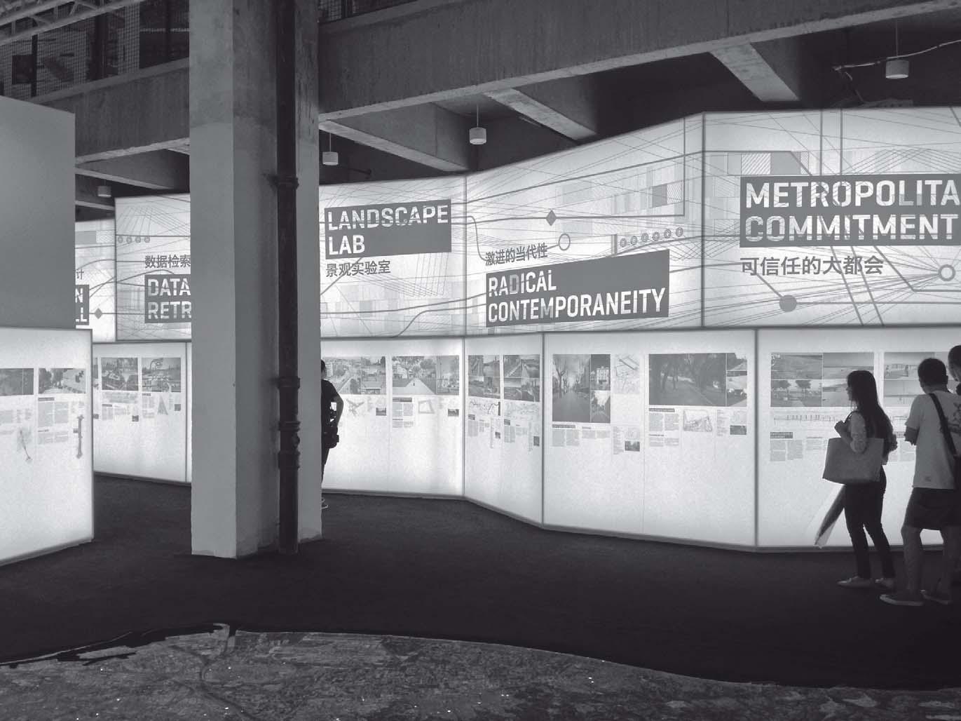 """Exposición. Exhibition """"Barcelona Urban Design Experience-AMB"""", Shanghai 2015"""