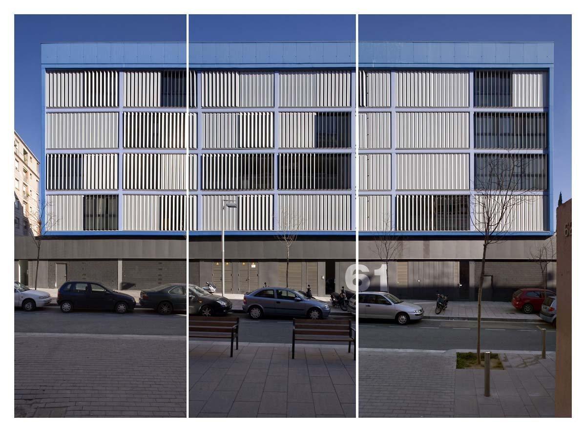 NS Arquitectos, Edificio de Viviendas en la Calle de la Selva, Barcelona