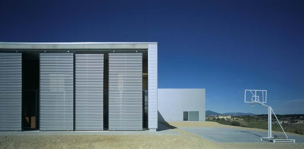 NS Arquitectes, Parque de Bomberos, Banyoles, Gerona.