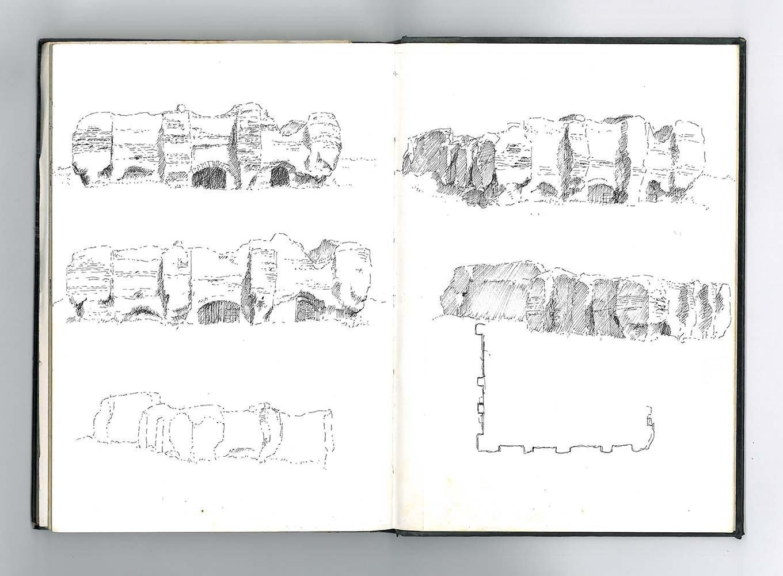 McCullough Mulvin Architects, 'la cultura del lugar', cuaderno de anotaciones.
