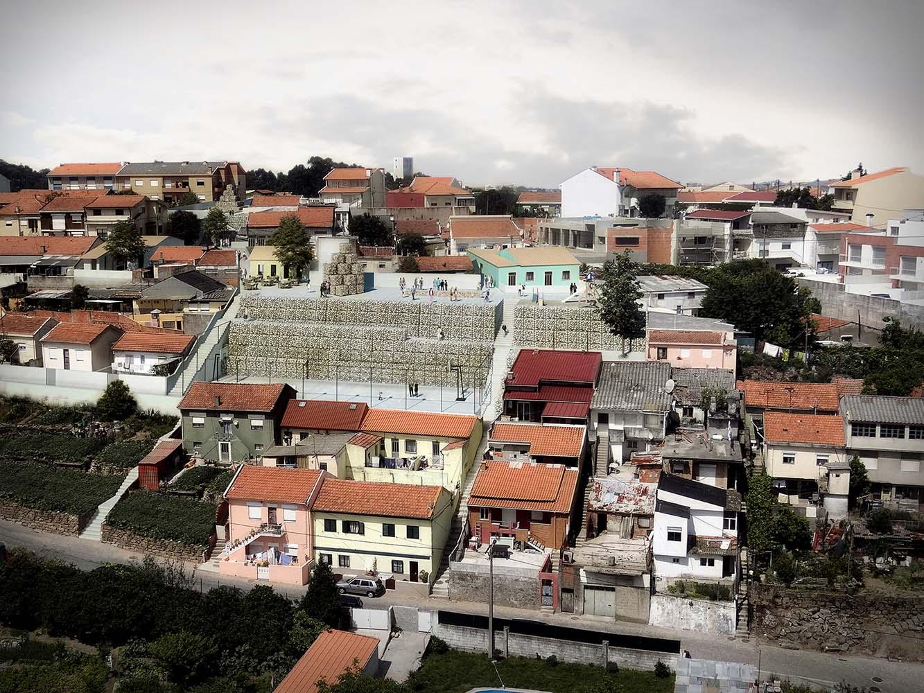 Monte Xisto, Matosinhos. Paulo Moreira architectures. Imagen: Prompt Collective