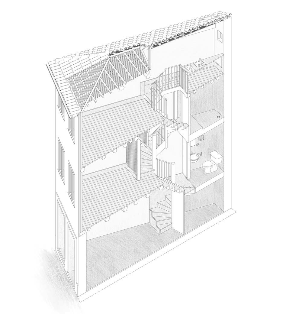'A Casinha'. Paulo Moreira architectures