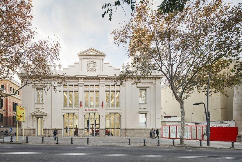 Museo Bomberos. Roldan y Berengue Arquitectes. (Fotografía. Jordi Surroca)