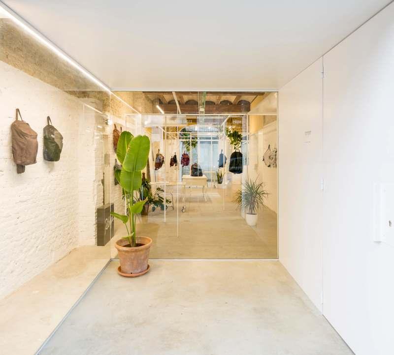 Interior Tienda Ribags. Fotografía Daniel Rueda