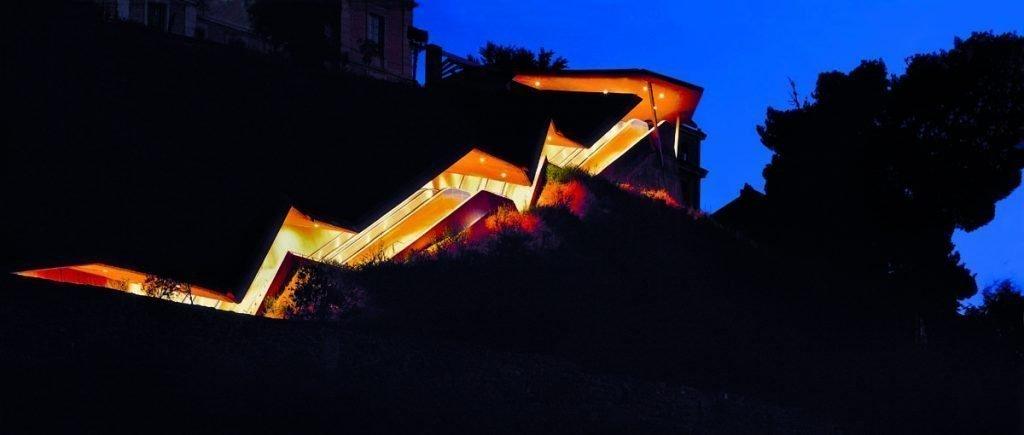 Escaleras de la Granja. Fotografía: David Cardelús
