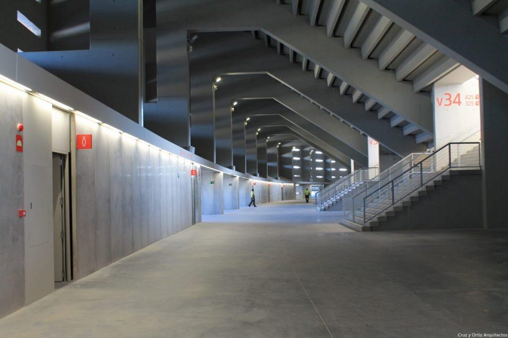 Interior Wanda Metropolitano