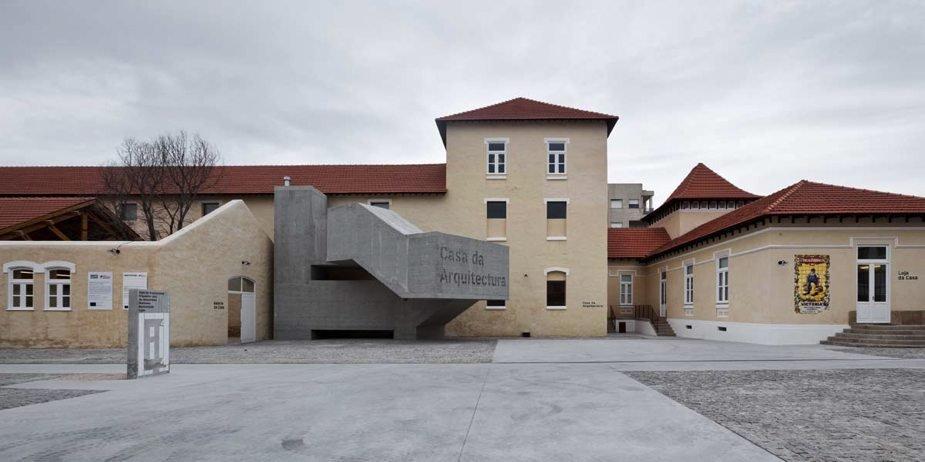 Casa da Arquitectura de Machado Vaz | Fotografía de Luis Ferreira Alves