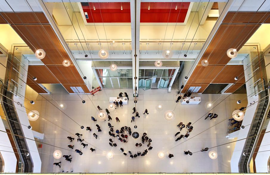 Interior del Tribunal de París de Renzo Piano