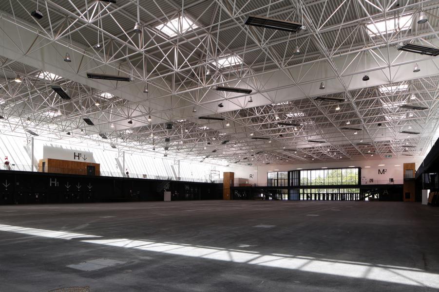 Interior de Parc des expositions de Caen