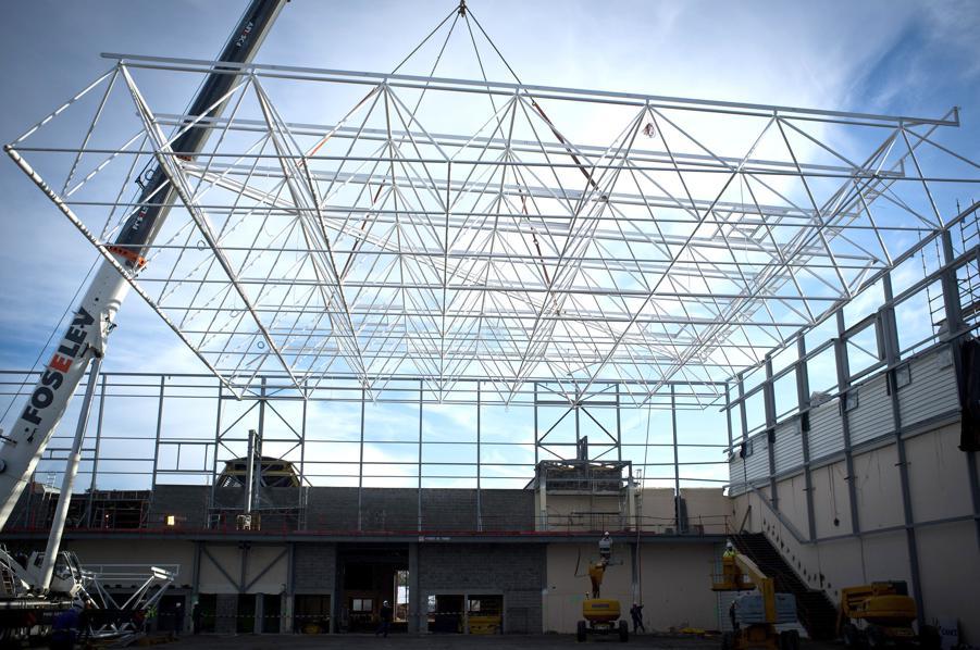 Estructura tridimensional de Parc des expositions de Caen