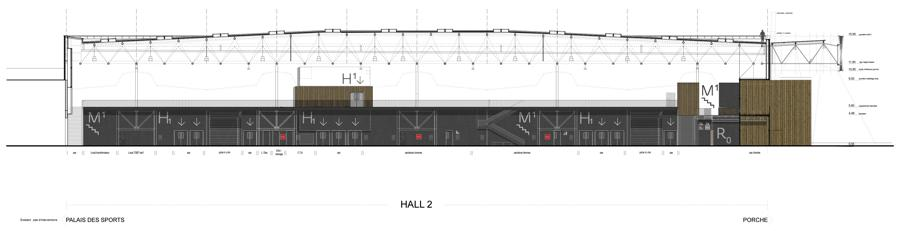 Sección de Parc des expositions de Caen