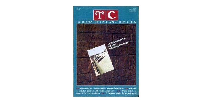 Figura nº1: portada TC Tribuna de la Construcción nº 1