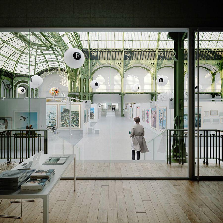 Espacio expositivo Le Grand Palais   Lan Paris