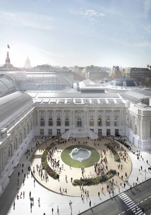 Plaza Jean Perrin | Le Grand Palais | Lan Paris
