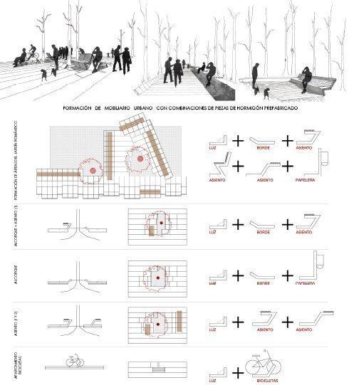 Escala de detalle, el moviliario urbano