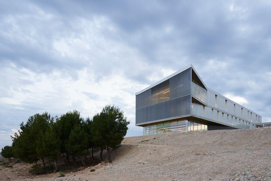 Edificio de Servicios Generales. Universidad San Jorge (IDOM)