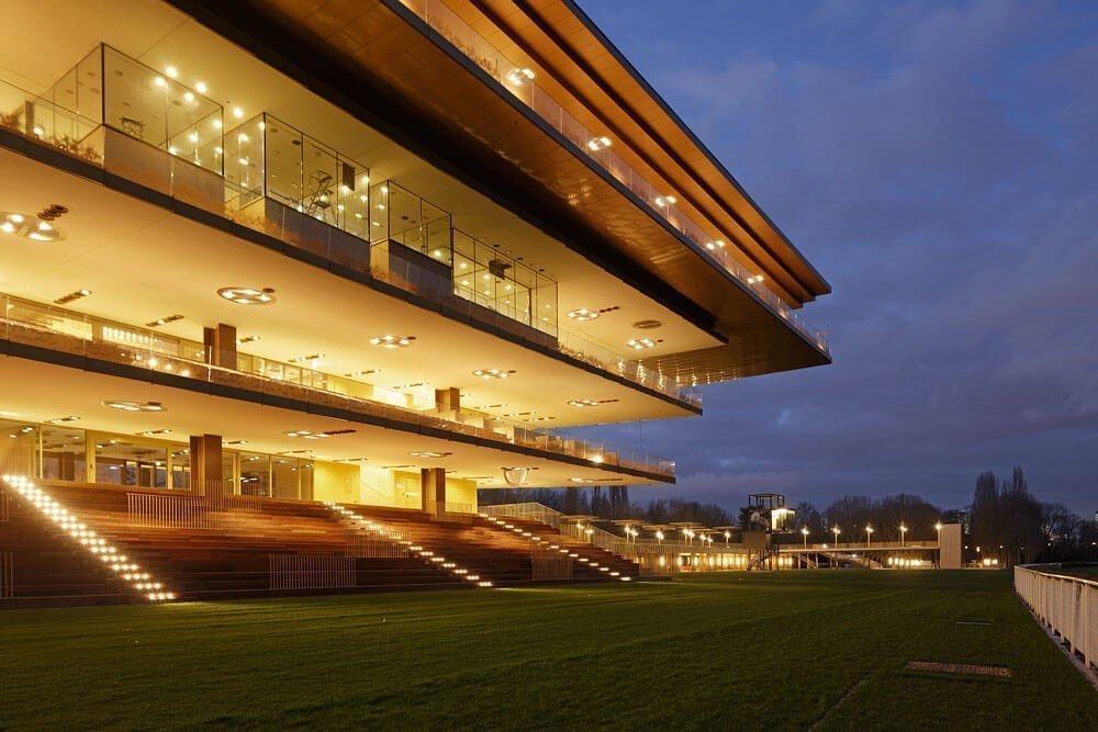 Hipódromo de Longchamp Paris- Dominique Perrault Architecte