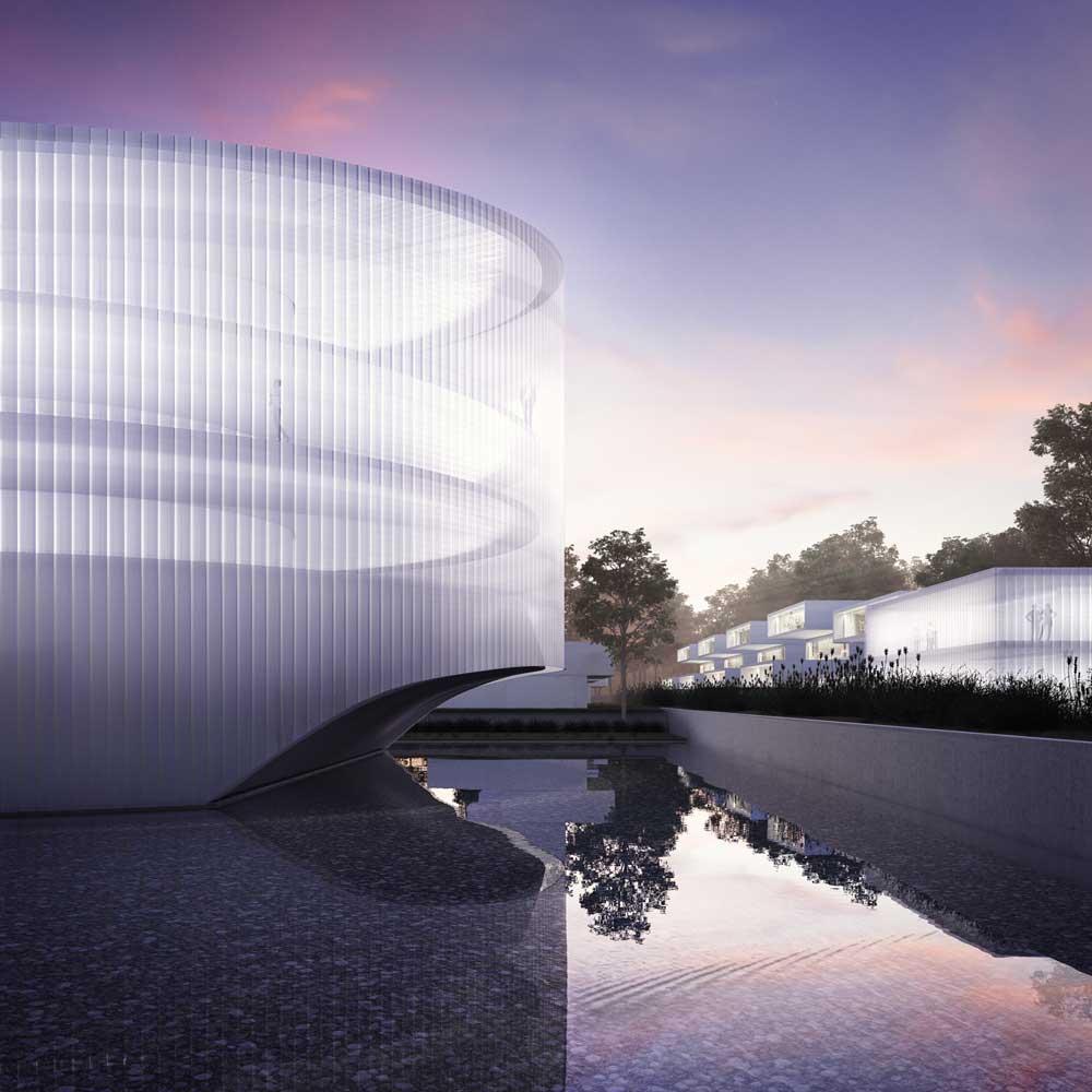Complejo residencial en Qingdao, China- Fran Silvestre Arquitectos