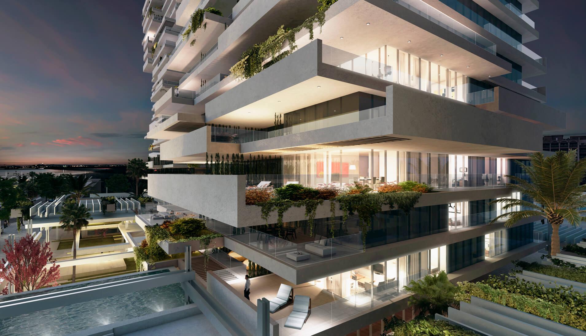 Torres del r o nuevo proyecto residencial en m laga del - Arquitectos interioristas malaga ...