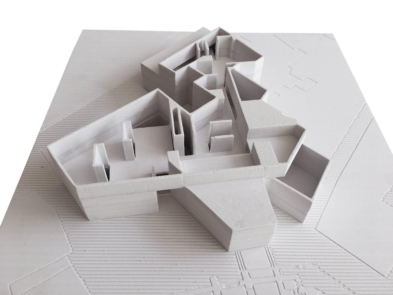 Museo Semana Santa Zamora_Matos Castillo arquitectos + EXtudio_Maqueta 01