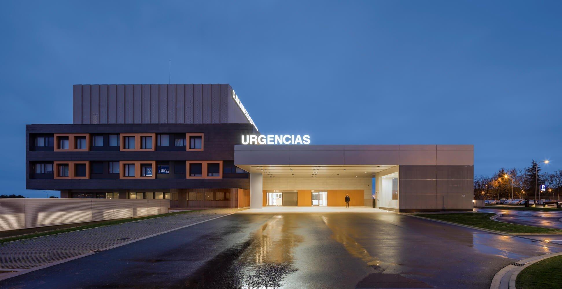 Idom Clinica Universidad Navarra noche