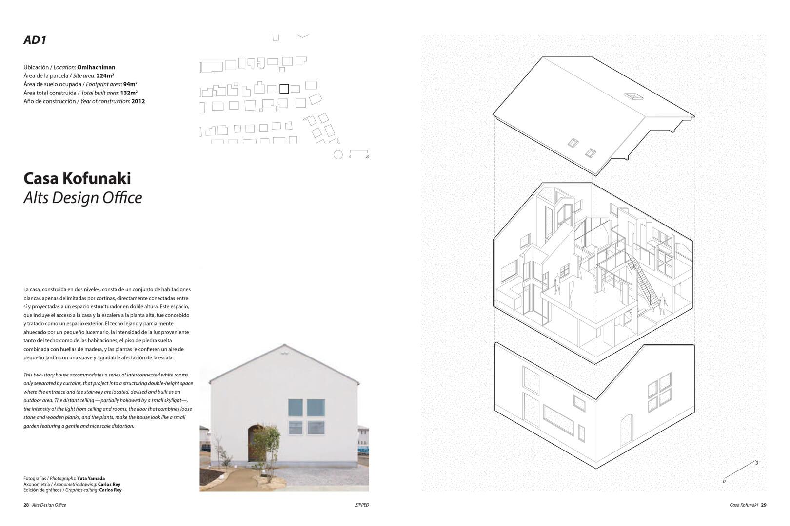 ZIPPED espacio casas pequeñas japonesas