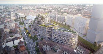Edificio de uso mixto en Rennes, Atelier Kempe Thill