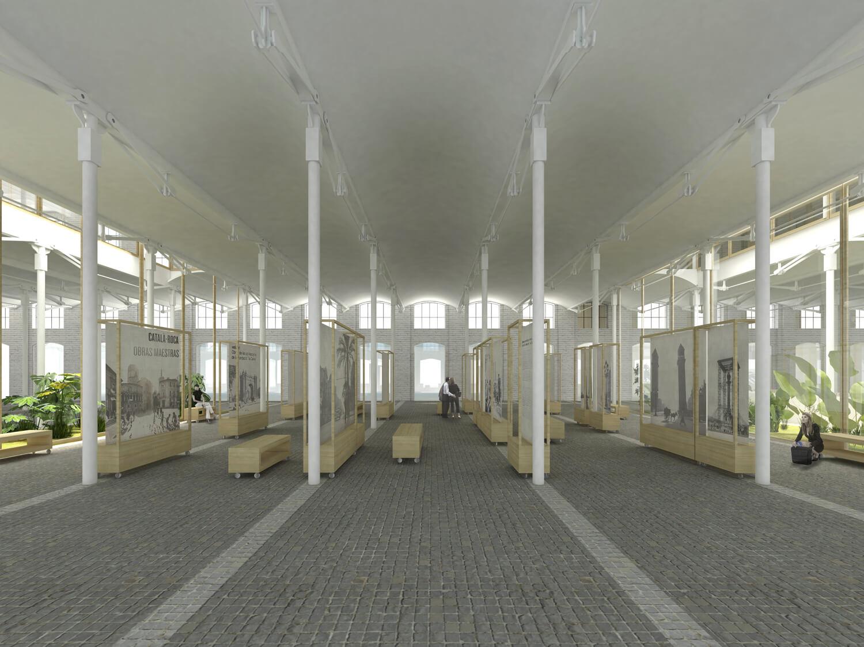 Can Batllo- Proyecto AGORA- Interior