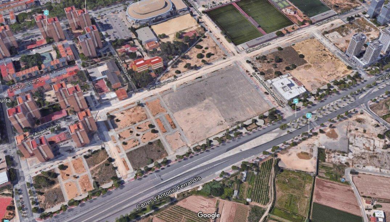 Ubicación -Valencia-Arena