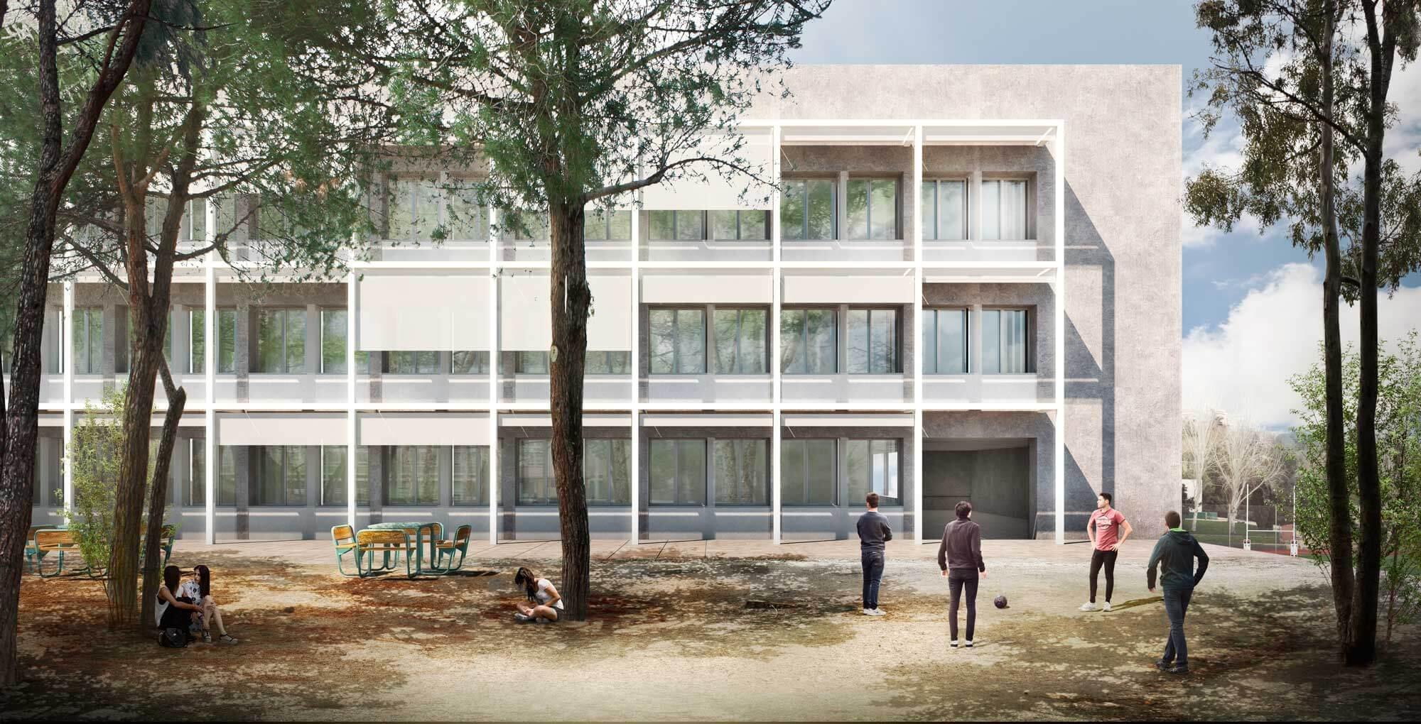 Liceo Frances Madrid Campo Baeza Secundaria