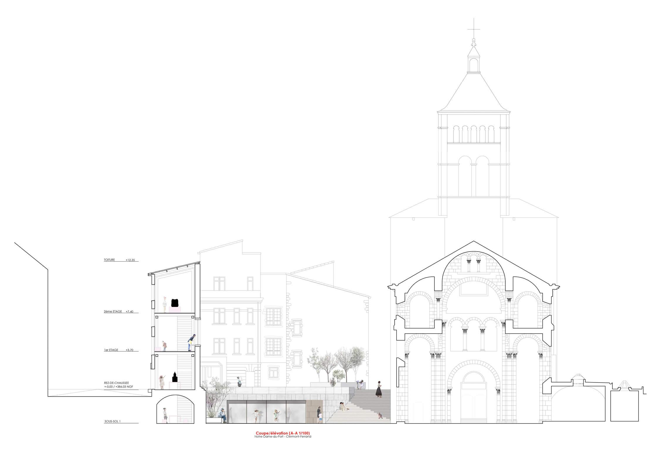Linazasoro remodelacion basilica clermont seccion 2