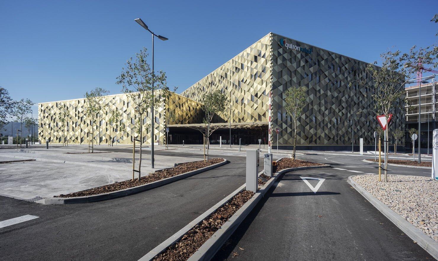 accesos hospital cordoba enero arquitectura