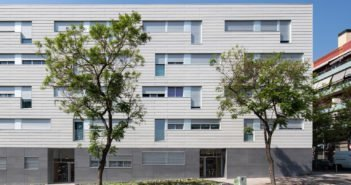 viviendas nou barris picharchitects envolvente edificio