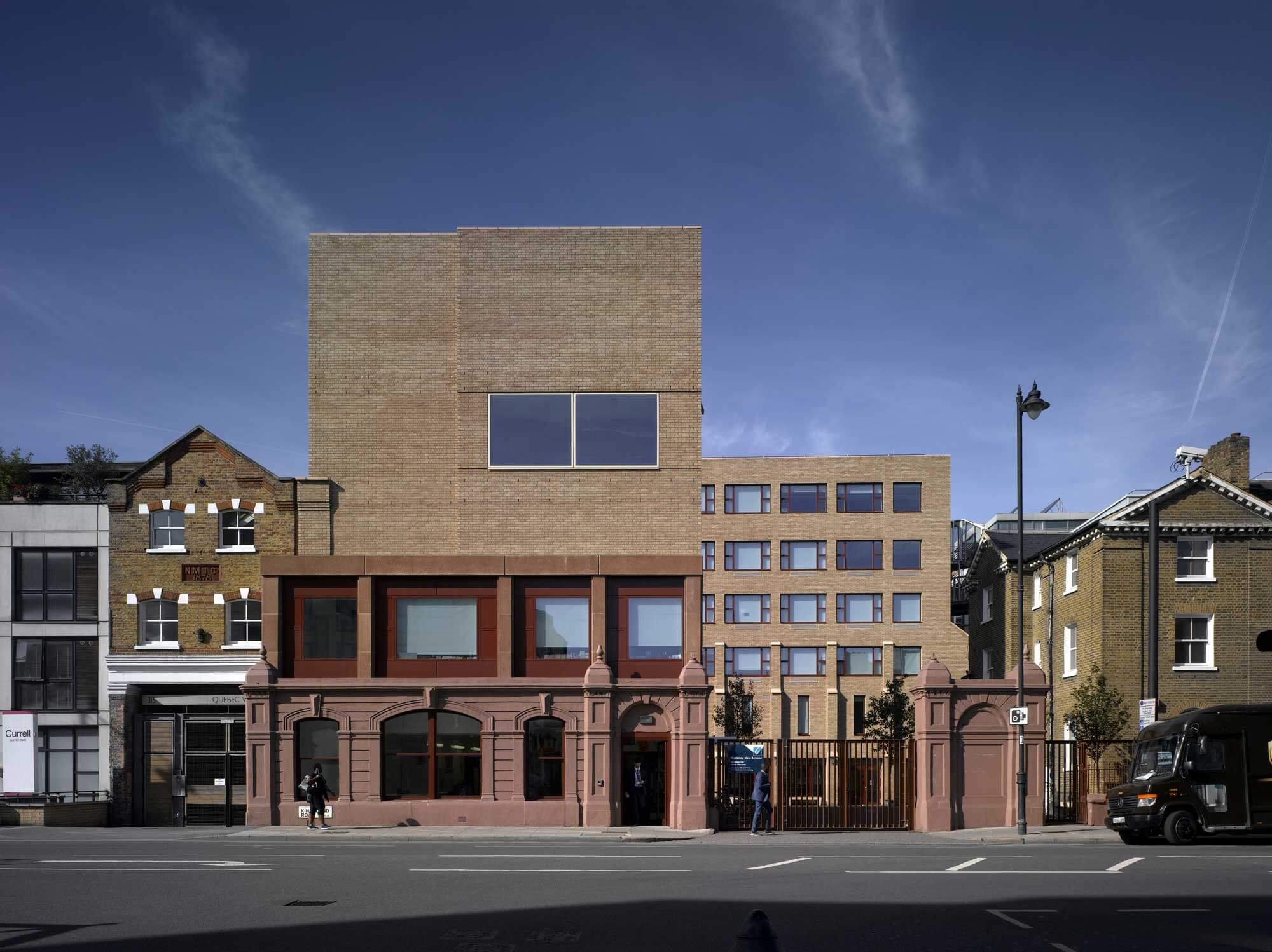hackney new school Henley Halebrown Architects