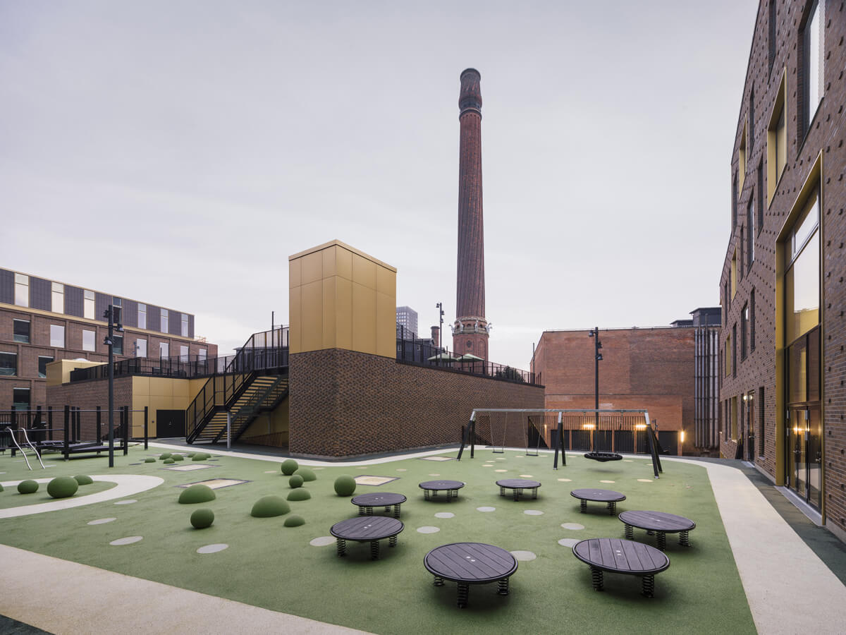 scuela europea copenhaguen NORD Architects