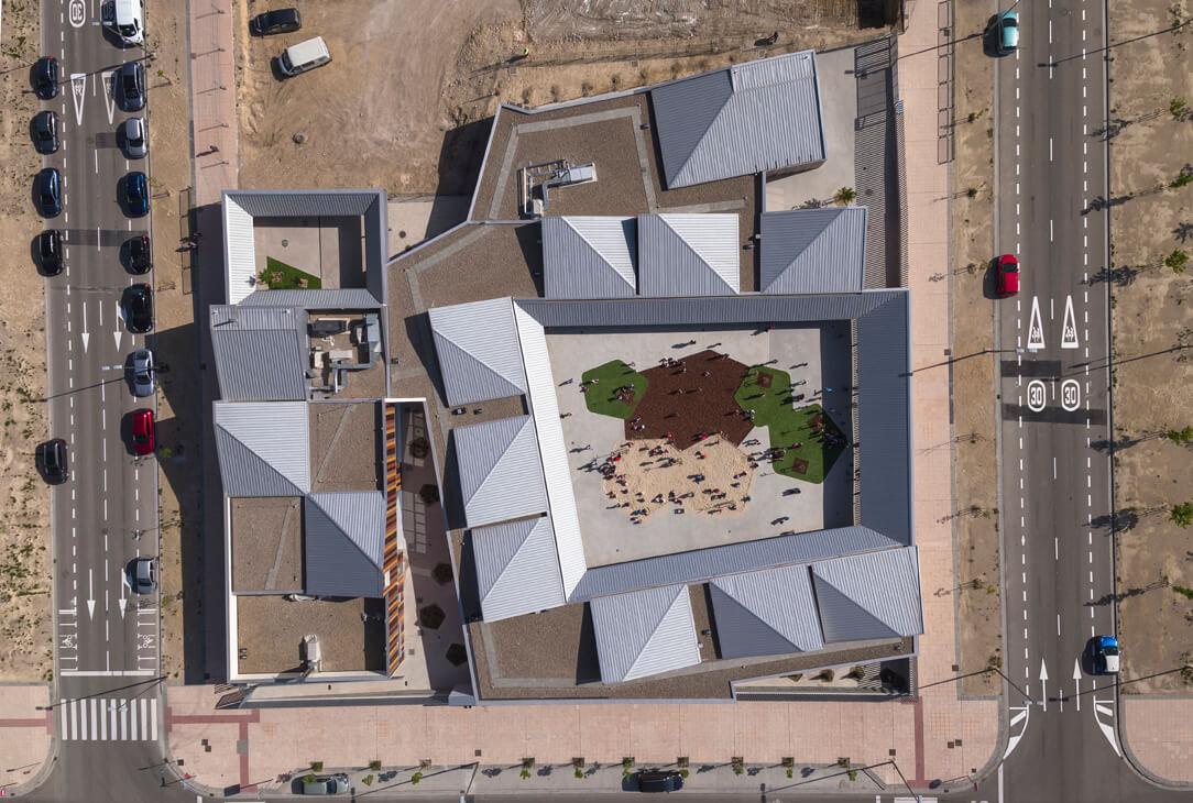 colegio arcosur zaragoza magen arquitectos
