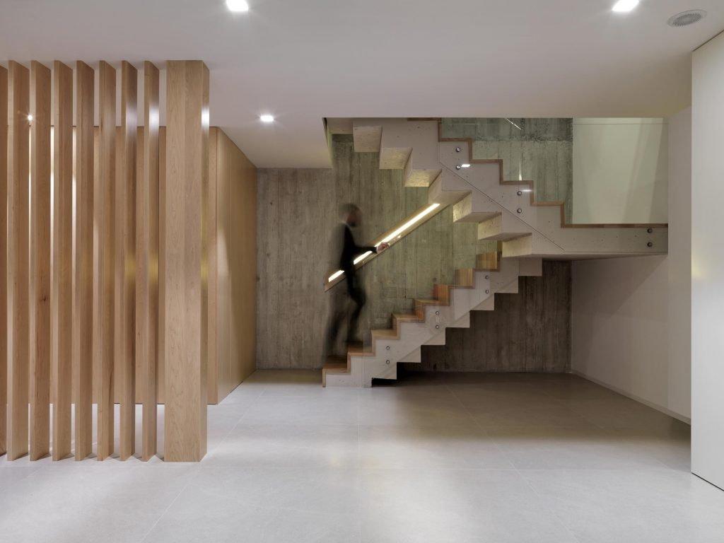 Interior casa Concreto
